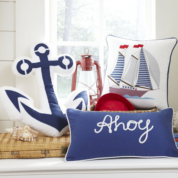 Ahoy Lumbar Pillow Cover by Birch Lane Kids™
