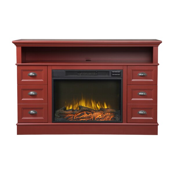 Flamelux Media 55 TV Stand with Fireplace by Homestar