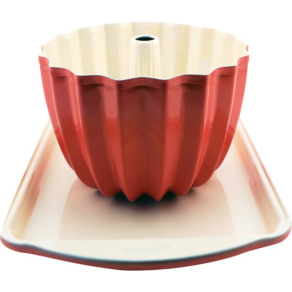 Chervil Cookie Sheet and Bundt Pan Set (Set of 2) by Mint Pantry