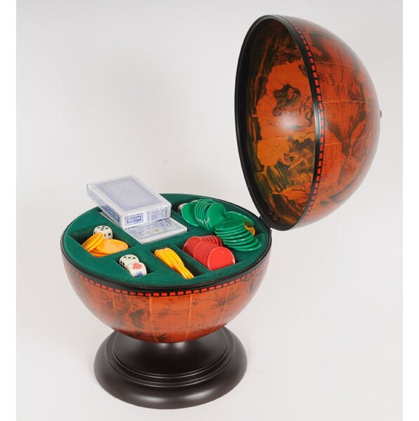 Globe Poker Set by Old Modern Handicrafts