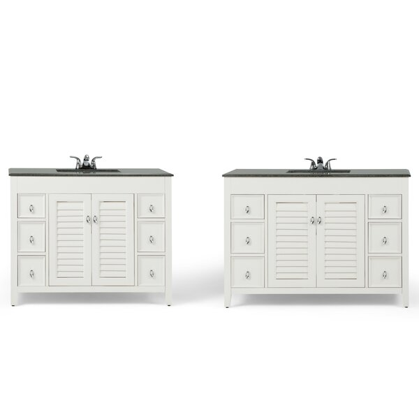 Adele 43 Single Bathroom Vanity Set by Simpli Home