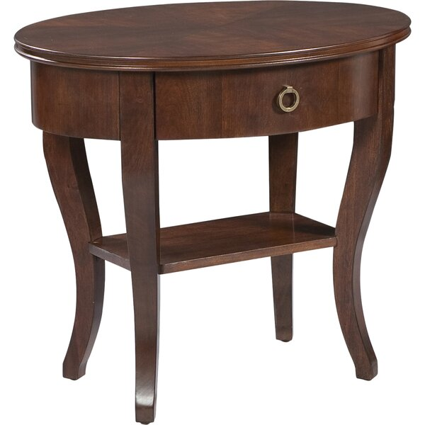 Grandview End Table with Storage by Fairfield Chair Fairfield Chair