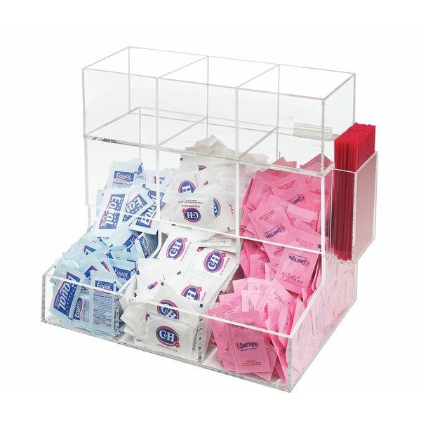 OnDisplay Acrylic Sugar/Creamer Station by Vandue Corporation