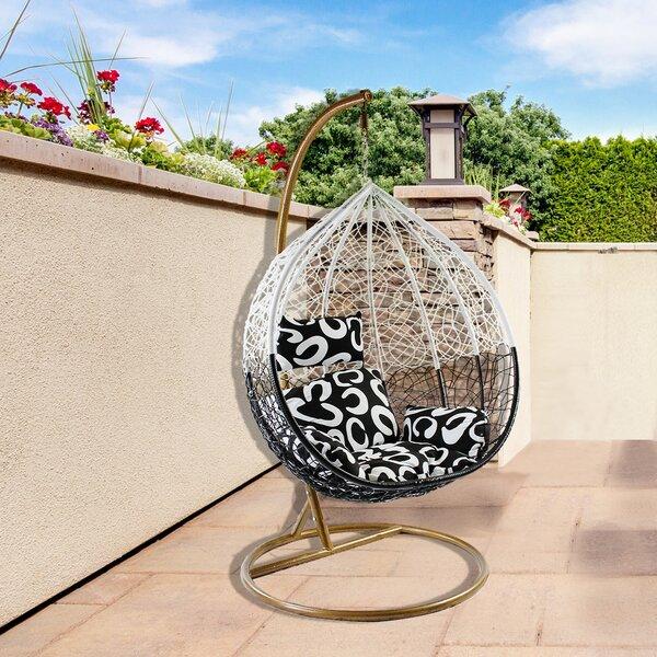 Cosby Teardrop Swing Chair with Stand by Brayden Studio Brayden Studio