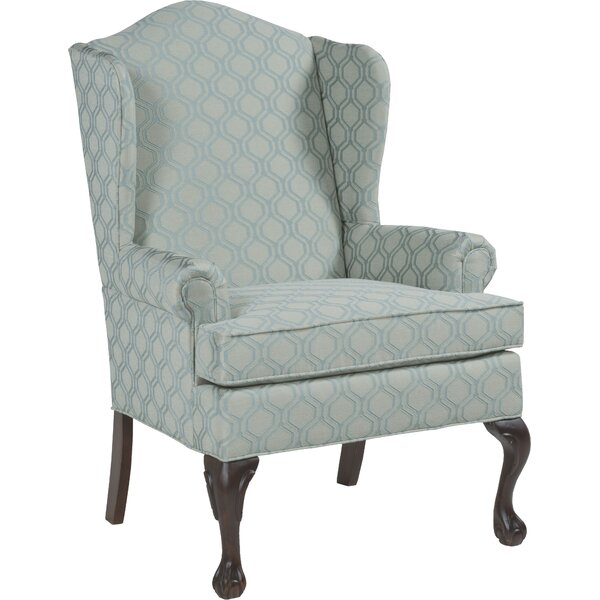 Vaughn Wingback Chair by Fairfield Chair