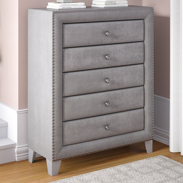 Spence 5 Drawer Chest by Rosdorf Park