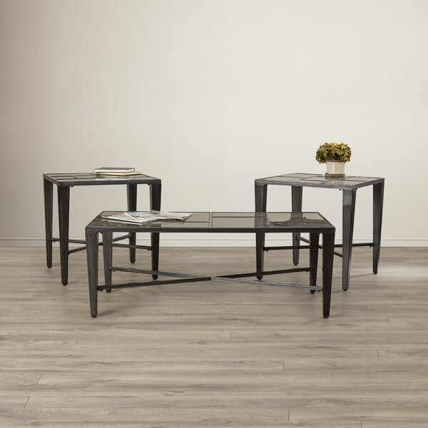 Hoa 3 Piece Coffee Table Set by Latitude Run Latitude Run