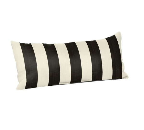 Woodhaven Outdoor Lumbar Pillow by Breakwater Bay