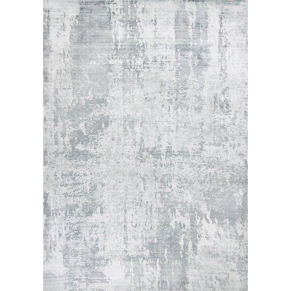 Sylvia Hand-Woven Gray Area Rug by Langley Street