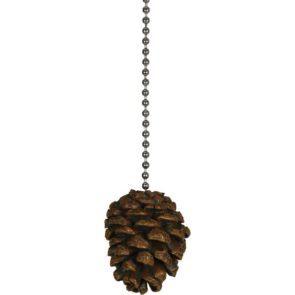 Pine Cone Fan Pull by American Expedition