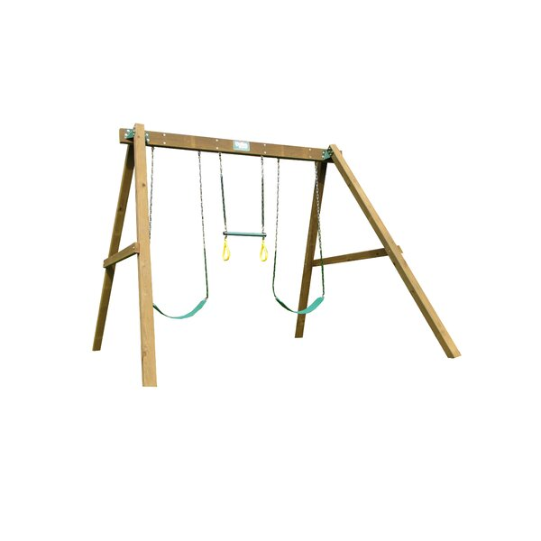 Classic Swing Beam Swing Set by Creative Plaything
