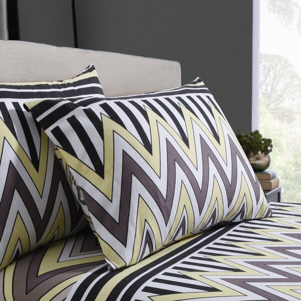 Flannel Cotton Sheet Set by Tribeca Living