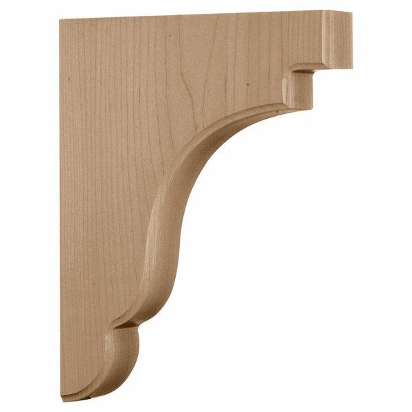 Bedford 11H x 1 3/4W x 8 1/2D Wood Bracket in Maple by Ekena Millwork