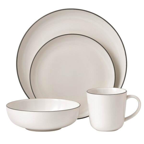 Bread Street 4 Piece Place Setting, Service for 1 by Gordon Ramsay by Royal Doulton