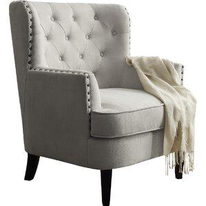 carter tufted arm chair