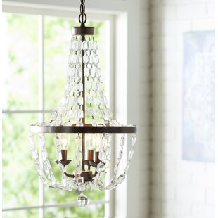 Coupon Katy 3-Light Empire Chandelier By Mistana