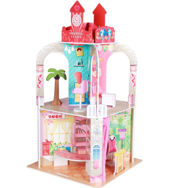 Shopping Center with Figurines by Teamson Kids