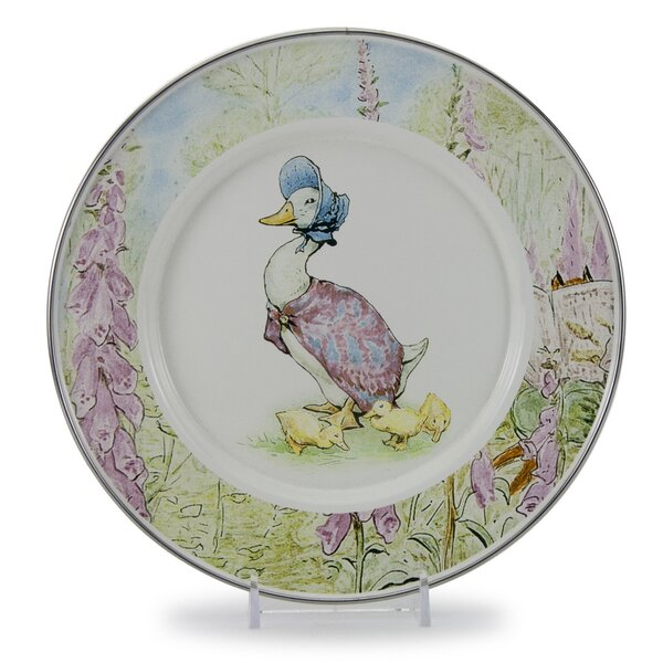 Sewell Puddle Duck 8.5 Salad Plate (Set of 4) by August Grove