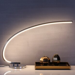 Inexpensive Treanor LED Integrated 16 Table Lamp By Orren Ellis