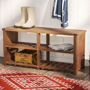Wood Storage Bench ByTrent Austin Design