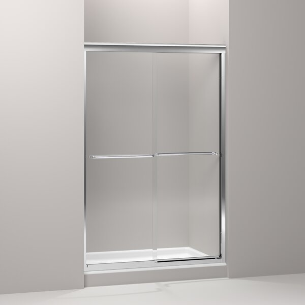 Fluence 47.5 x 76.5 Bypass Shower Door with CleanCoat® Technology by Kohler