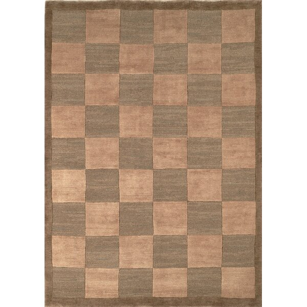 Green/Beige Area Rug by dCOR design