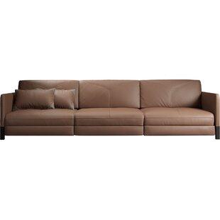 Lafayette Leather Sofa by Modloft