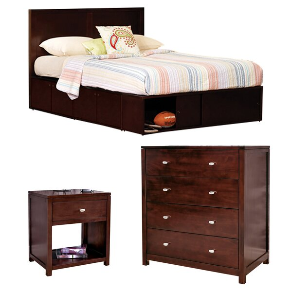 Erskine Full Panel Configurable Bedroom Set by Latitude Run