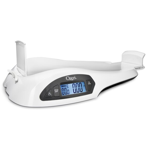 All-in-One Baby and Toddler Scale with Weight and Height Change Detection by Ozeri
