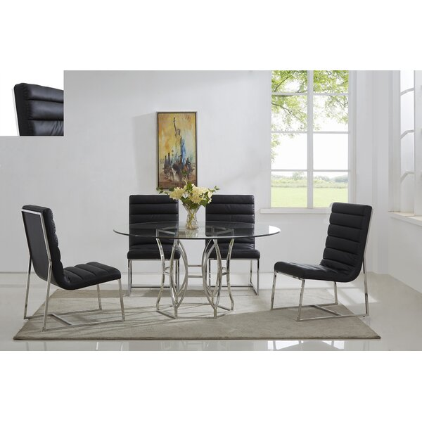 Savon 5 Piece Dining Set by Orren Ellis