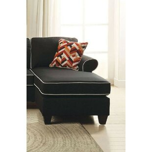 Mullinix Upholstered Modular Love Chaise Lounge