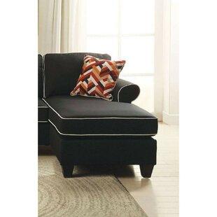 Mullinix Upholstered Modular Love Chaise Lounge