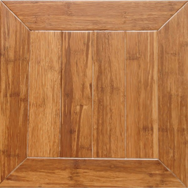 Monticello Parquet Engineered 15.75 x 15.75 Bamboo Wood Tile by Islander Flooring
