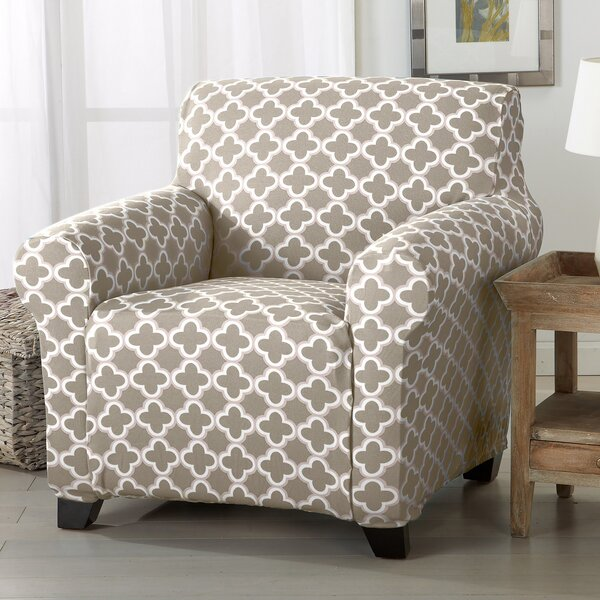 Box Cushion Armchair Slipcover by Winston Porter