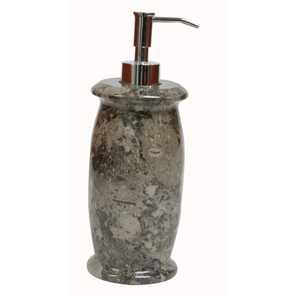 Polished Marble Kailey Lotion Dispenser by Bloomsbury Market