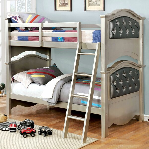 Funon Twin over Twin Bunk Bed by Harriet Bee