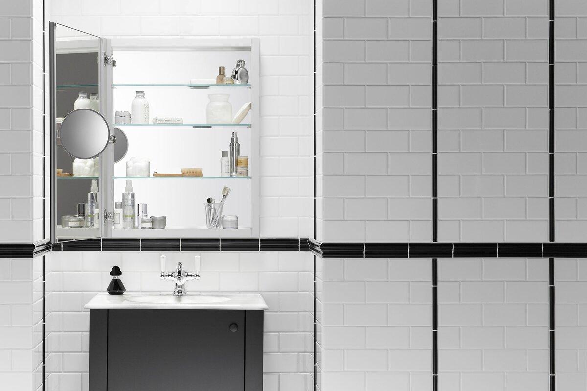 K 99007 Na Kohler Verdera 24 X 30 Medicine Cabinet With Adjustable Magnifying Mirror Reviews