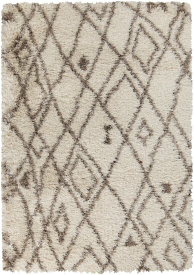 Sina Hand Woven Bone Area Rug by Bungalow Rose