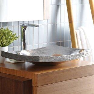 Order Maestro Metal Rectangular Vessel Bathroom Sink ByNative Trails, Inc.
