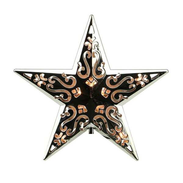 Lighted Cut-out Design Decorative Star Christmas Tree Topper by Northlight Seasonal