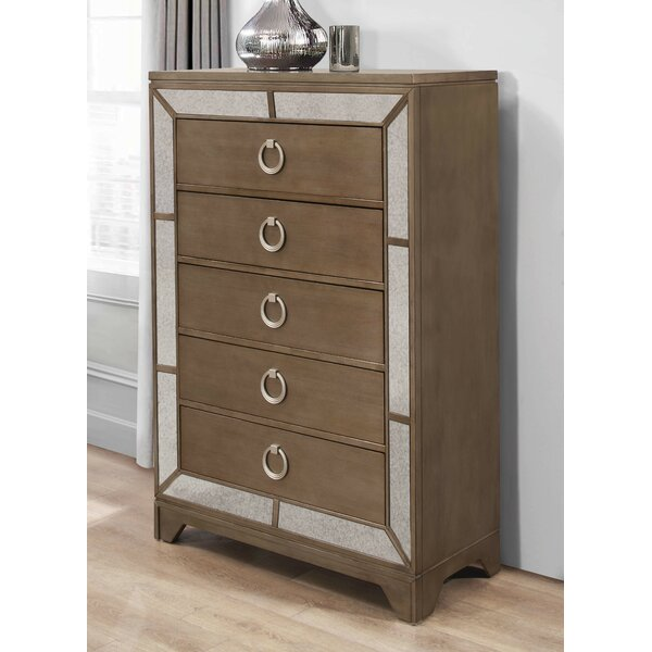 Faribault 5 Drawer Chest by Everly Quinn