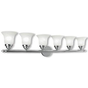 Edgerton 6 Light Vanity Light