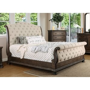 murillo upholstered sleigh bed - Upholstered Sleigh Bed