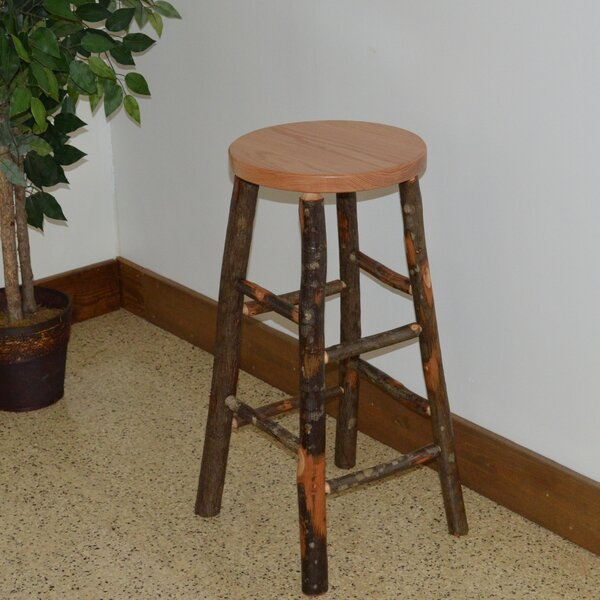 Hickory 30 Bar Stool by A&L Furniture