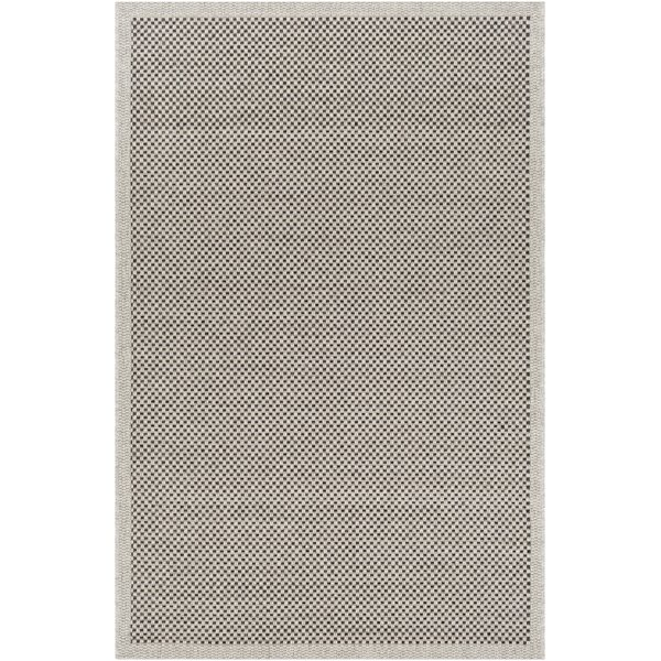 Sarang Light Gray Indoor/Outdoor Area Rug by Highland Dunes
