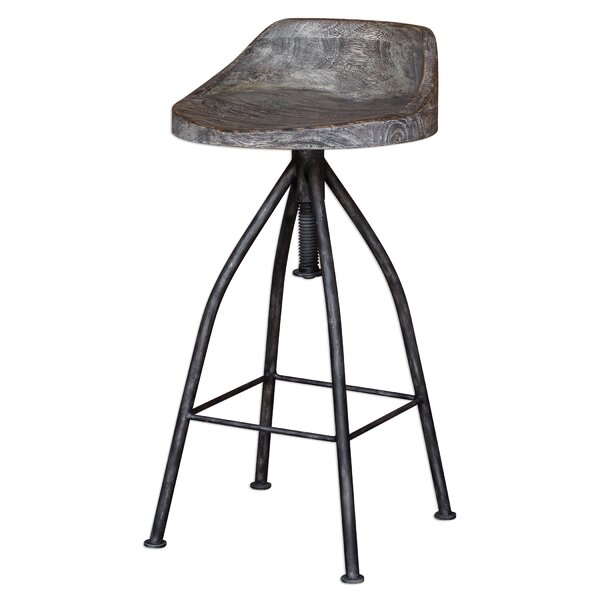 Eldorado Adjustable Height Bar Stool by Trent Austin Design