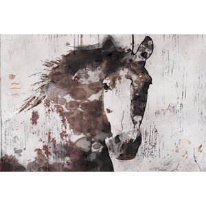 'Gorgeous Horse' Print on Canvas by Union Rustic
