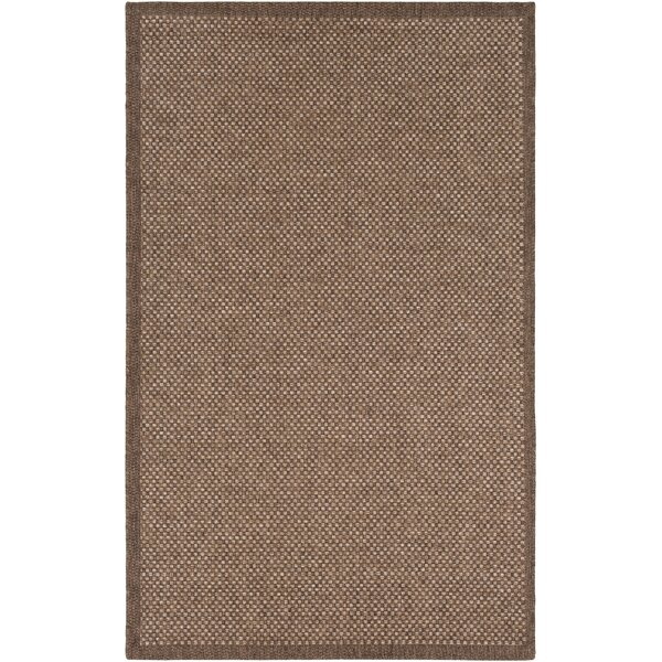 Sarang Camel Indoor/Outdoor Area Rug by Highland Dunes