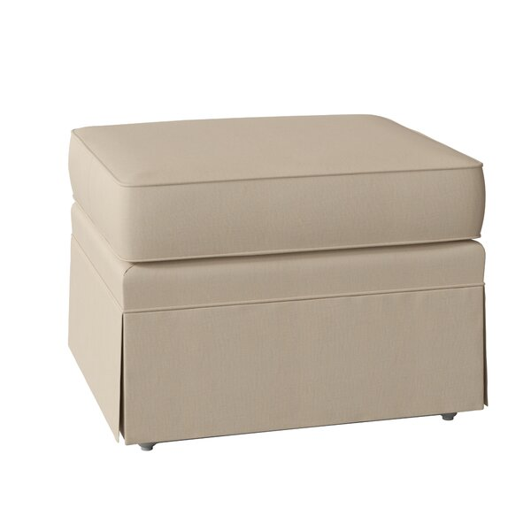 Bellamy Ottoman by DwellStudio