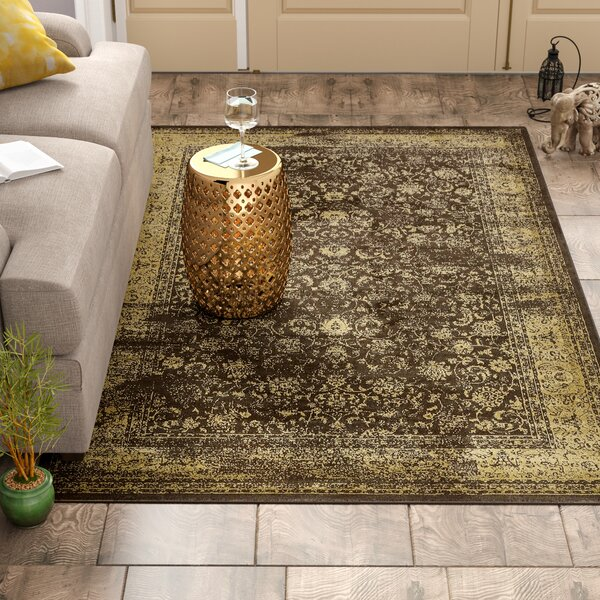 Tongouin Imperial Brown Area Rug by World Menagerie